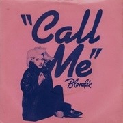 7'' - Blondie - Call Me - Blue injection-moulded labels