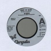 7inch Vinyl Single - Blondie - Heart Of Glass - Injection moulded labels