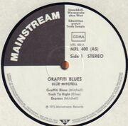 LP - Blue Mitchell - Graffiti Blues - Promo