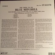 LP - Blue Mitchell - The Thing To Do - REISSUE FROM 1964