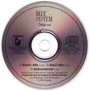 CD Single - Blue System - Déjà Vu