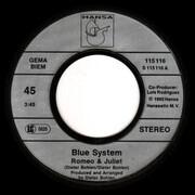 7inch Vinyl Single - Blue System - Romeo & Juliet