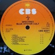 LP - Blue Öyster Cult - Spectres