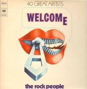 LP-Box - Blue Oyster Cult, Bob Dylan, Santana... - Welcome the Rock People