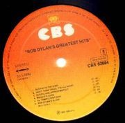 LP - Bob Dylan - Greatest Hits - without Labelcode