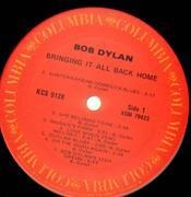 LP - Bob Dylan - Bringing It All Back Home