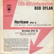 7inch Vinyl Single - Bob Dylan - Hurricane