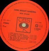 LP - Bob Dylan - John Wesley Harding - ORIGINAL HOLLAND