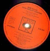 LP - Bob Dylan - John Wesley Harding - ORIGINAL GERMAN