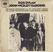 7inch Vinyl Single - Bob Dylan - John Wesley Harding - Rare