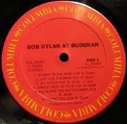 Double LP - Bob Dylan - Live At Budokan - US PRESSING