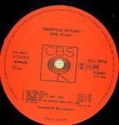 LP - Bob Dylan - Nashville Skyline - BOXED CBS