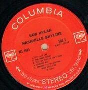 LP - Bob Dylan - Nashville Skyline - Original US 2-EYE