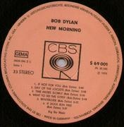 LP - Bob Dylan - New Morning - Original