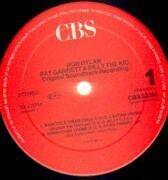 LP - Bob Dylan - Pat Garrett & Billy The Kid - RED CBS LABELS