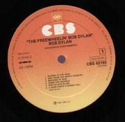 LP - Bob Dylan - The Freewheelin' Bob Dylan