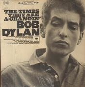LP - Bob Dylan - The Times They Are A-Changin' - Original black 360