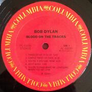 LP - Bob Dylan - Blood On The Tracks - Black liner notes, Terre Haute Pressing