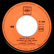 7inch Vinyl Single - Bob Dylan - Blowin'in The Wind