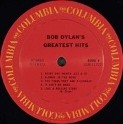 LP - Bob Dylan - Greatest Hits - US PRESS