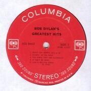 LP - Bob Dylan - Bob Dylan's Greatest Hits - incl Poster
