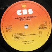 LP - Bob Dylan - Highway 61 Revisited