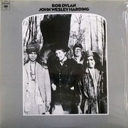 LP - Bob Dylan - John Wesley Harding - 180