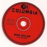 Double CD - Bob Dylan - Love And Theft - Digipak