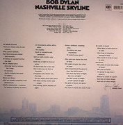 LP - Bob Dylan - Nashville Skyline - Still sealed. 180 G Vinyl
