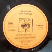 LP - Bob Dylan - New Morning