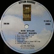 LP - Bob Dylan - Planet Waves - Pitman Pressing