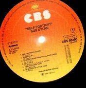 Double LP - Bob Dylan - Self Portrait - DUTCH SUNBURST