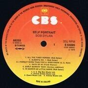 Double LP - Bob Dylan - Self Portrait - SUNBURST UK