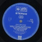 LP - Bob Dylan - Songy Boba Dylana - Unique Cover. Original CSSR