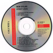 CD - Bob Dylan - Street Legal