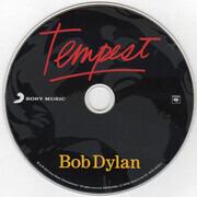 CD - Bob Dylan - Tempest - Paper sleeve missing