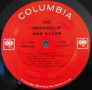 LP - Bob Dylan - The Freewheelin' Bob Dylan - Santa Maria Pressing