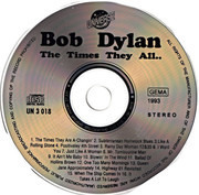 CD - Bob Dylan - The Times They Are A-Changin'