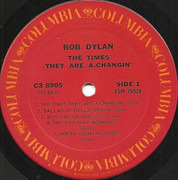 LP - Bob Dylan - The Times They Are A-Changin'
