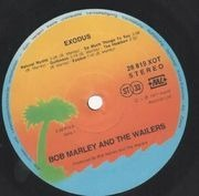 LP - Bob Marley & The Wailers - Exodus - Sunset labels