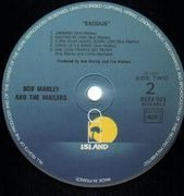 LP - Bob Marley & The Wailers - Exodus - France