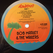 LP - Bob Marley & The Wailers - Exodus - Embossed Cover