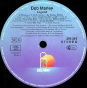 LP - Bob Marley & The Wailers - Legend - The Best Of Bob Marley And The Wailers - Gatefold Sleeve