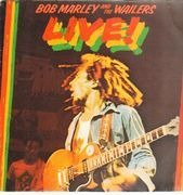 LP - Bob Marley & The Wailers - Live!