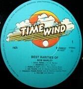 LP - Bob Marley - Best Rarities Of