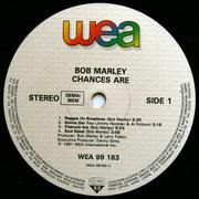 LP - Bob Marley - Chances Are