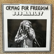 LP-Box - Bob Marley - Crying For Freedom - Red Label, Black & White Sleeve