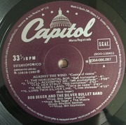 LP - Bob Seger And The Silver Bullet Band - Against The Wind. Contra el viento