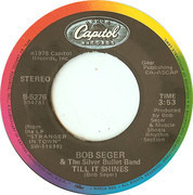 7inch Vinyl Single - Bob Seger And The Silver Bullet Band - Old Time Rock & Roll