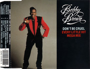 CD Single - Bobby Brown - Don't Be Cruel / Every Little Hit Megamix